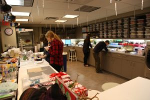 This is our very busy craft area.