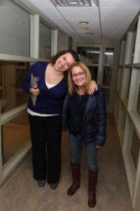 Jennifer Sawyer and Producer Barbara Fight
