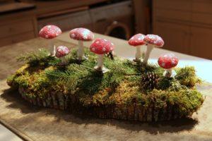 A sweet woodland scene