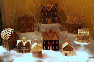 A quaint winter village