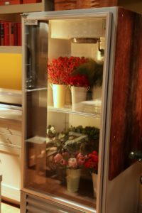 The floral refrigerator