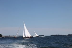 It was a perfect day for sailing!