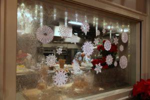 The window of the prep kitchen looks amazing.