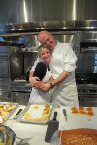 The guests were thrilled with the food, which made Sarah and Pierre so happy!