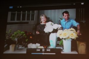 Videos are embedded into the digital magazine, such as this one all about flower arranging.