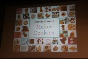 We also demoed our fantastic cookie app called Martha Stewart Makes Cookies.
