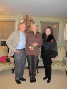 Harvey Sloan, me, and Kathy Sloan - my good friends