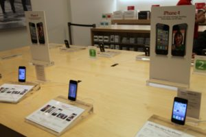 The extremely popular new iPhone 4