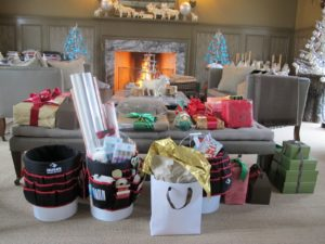 Christmas was a small and intimate celebration this year.