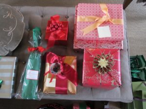 Each and every package was wrapped exquisitely.