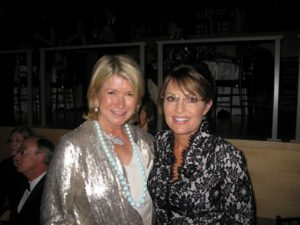 Here I am posing with Sarah Palin at the Time 100 event last night.