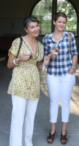 Susan MacGill and her lovely daughter