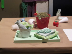 One of the projects I demonstrated on The View was how to make charming catnip toys for your cats.  My cats love them!