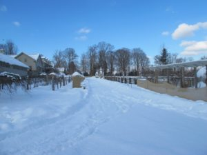 We received about 6-inches of snow.