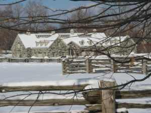The stable always looks great, especially in the snow.