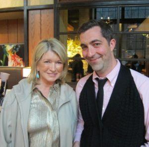Here I am with Jesse Alexander - Partner of En Japanese Brasserie.