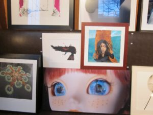Auction items - Donations by various artists