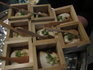 En's freshly made tofu - so very delicious!