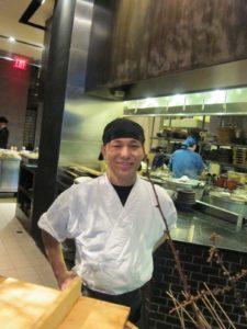 This is Hiroki Abe, the executive chef.