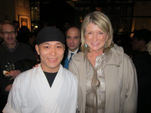 And posing with Chef Abe