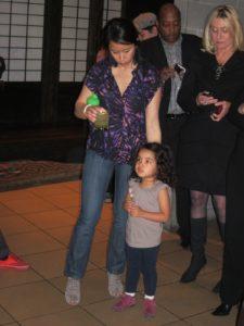 Wynton's daughter, Oni and her mother, Bernice Tsai