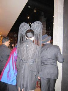 A better look at the headdress