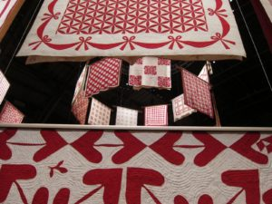 By the end of the nineteenth century, red and white quilts were at the height of their popularity.