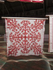 Quite often, quilts were used as wrapping for other purchases.