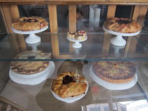 Pies and tarts galore from classic, free-form, sleek, and dainty - John Barricelli of The Sono Baking Company made all of the baked goods.