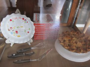 Also on display - pie dish and implements from the Martha Stewart Collection at Macy's - http://www1.macys.com/index.ognc