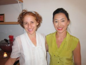Sarah Carey and Shira Bocar, Martha Stewart Living food editors and Pie Experts!