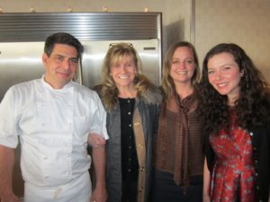 Joey Campanaro - owner of Little Owl, Jean Graham and Heather Kirkland - our events team, and Maggie Baisch of Little Owl