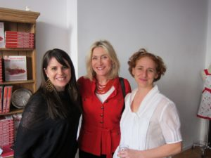 Kelly Galvin - from The Susan Magrino Agency, Susan Magrino - my long time publicist, and Sarah Carey - MSLO Food Editor