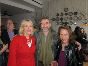 Susan Magrino, Cesare Casella - chef and owner of Salumeria Rosi  http://www.salumeriarosi.com/en_ny/home/ and Robin Magrino - our CEO