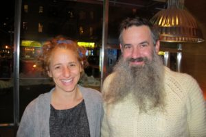 Sarah and Fritz Karch - SVP Editorial Director of Collecting
