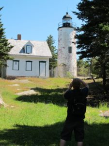 The Baker Island lighthouse is still operational.  It is the oldest lighthouse in the Mount Desert Island area.