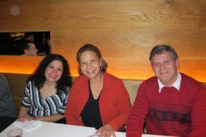 Ana Velasquez - Hospitality Associate, Cecilia Butris - Hospitality Associate, and Fernando Ferrari - Operations Assistant