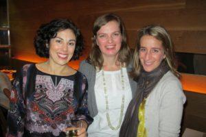 Amy Conway - Editor at Large, Silke Stoddard, Deputy Crafts Editor, and Tanya Graff - Deputy Style Editor