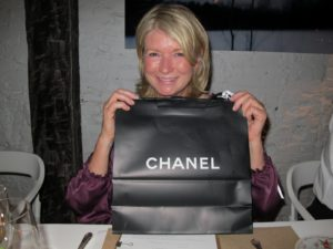 Later that night, at ABC Kitchen, I was given a beautiful red clutch from Chanel.