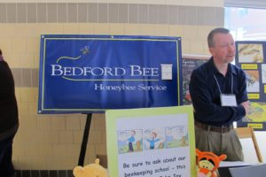 Bedford Bee works hard to educate about the importance of honeybees to our food system.