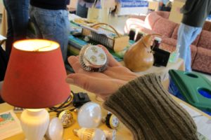 There were all sorts of energy-saving devices on display from light bulbs to shower heads.