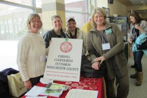 Posing with my friends from Cornell Cooperative Extension Westchester County - Contact the extension in your area for top-notch information, often unavailable elsewhere.