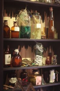 More bottles and jars