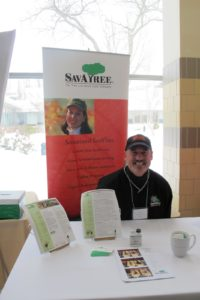 Dan Swim, from SavAtree - my arborists - were there promoting the importance of keeping your trees pruned and healthy.  Trees are great for the environment!