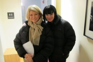 Here I am with actress Pauley Perrette (NCIS) - She taped before I did.