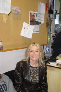 Susan Magrino, my longtime publicist, looking very chic