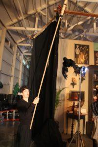 This puppeteer is Matt Leabo.