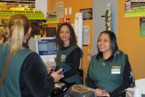 Fairway's attentive staff did a great job managing all of their normal sales, in addition to our book sales.