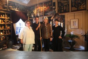 Puppeteers Barbara Busackino, Basil Twist, and Matt Leabo