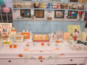 On the Home Shopping Network, the featured 'Today's Special' was our Star Burst Punch Collection.